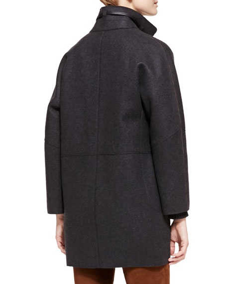 Spencer Belted Cashmere Coat
