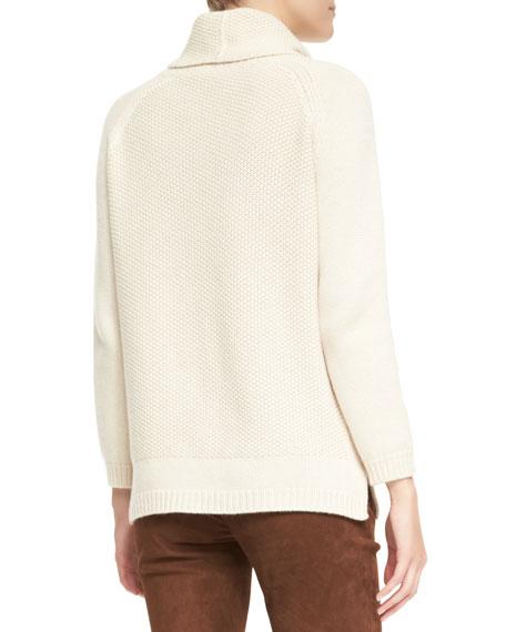 Tunica Paris Baby Cashmere Cowl-Neck Sweater
