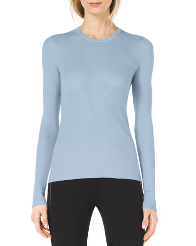 Michael Kors  Slim Cashmere Crewneck Sweater