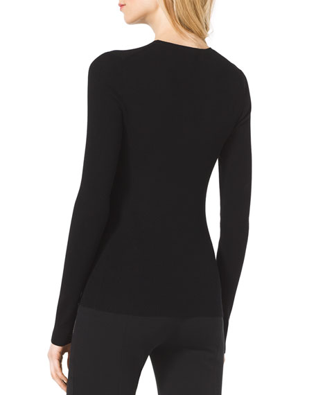 Slim Cashmere Crewneck Sweater