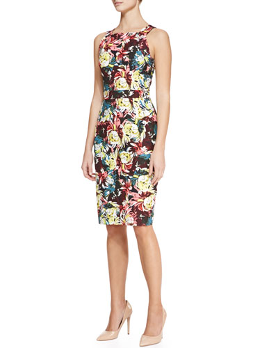 Erdem Gynis Printed Shift Dress