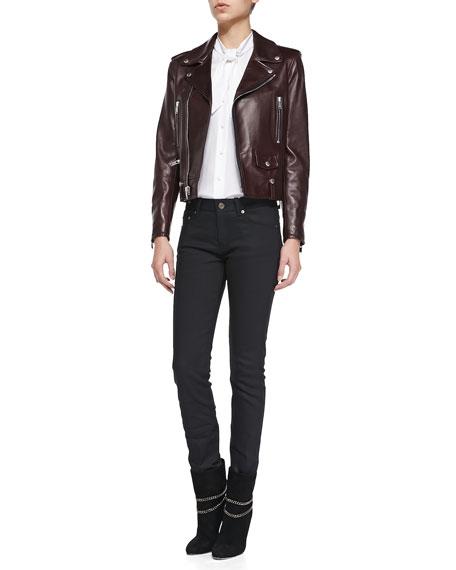 Skinny 5-Pocket Jeans