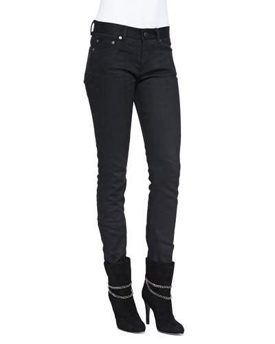 Saint Laurent Skinny 5-Pocket Jeans