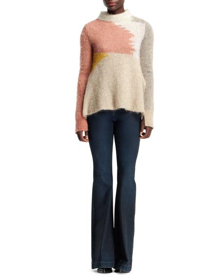 1970s Flare-Leg Denim Jeans