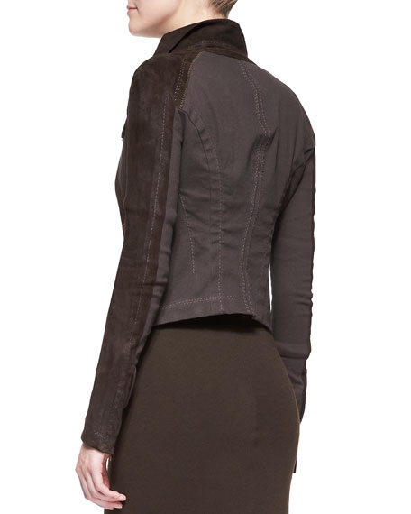 Long-Sleeve Zip-Front Jacket
