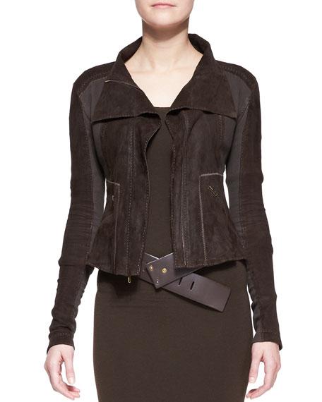 Long-Sleeve Zip-Front Jacket