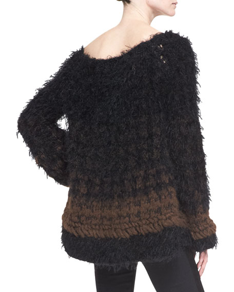 Oversized Cashmere/Alpaca Blend Sweater