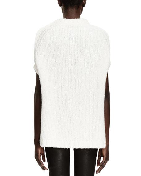 Maglia Ribbed-Knit Sweater, Milk