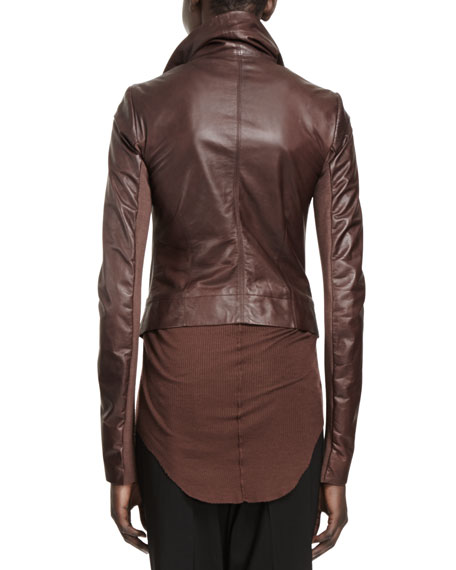 Classic Lamb Leather Biker Jacket