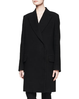 THE ROW Fessing Cotton-Wool Coat