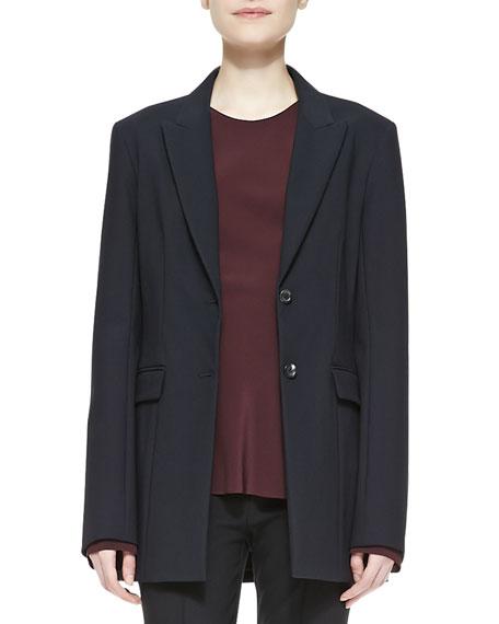 Two-Button Scuba Jacket