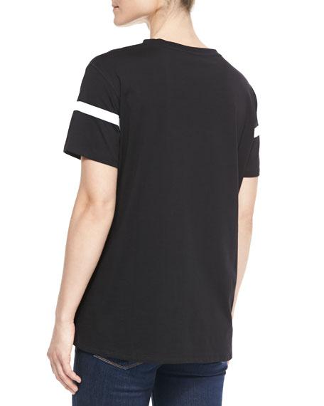 Short-Sleeve Still Life Printed T-Shirt