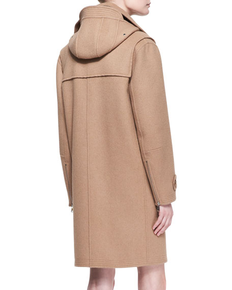 Garrett Camel Felt Toggle Coat