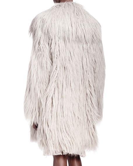 Shaggy Faux-Fur Coat