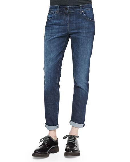 Brunello Cucinelli Classic 5-Pocket Denim Jeans