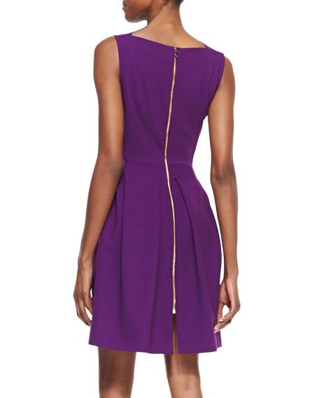 Antila Sleeveless Pleated-Skirt Dress