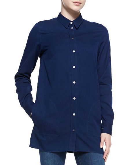 Lyric Denim Button-Up Shirt