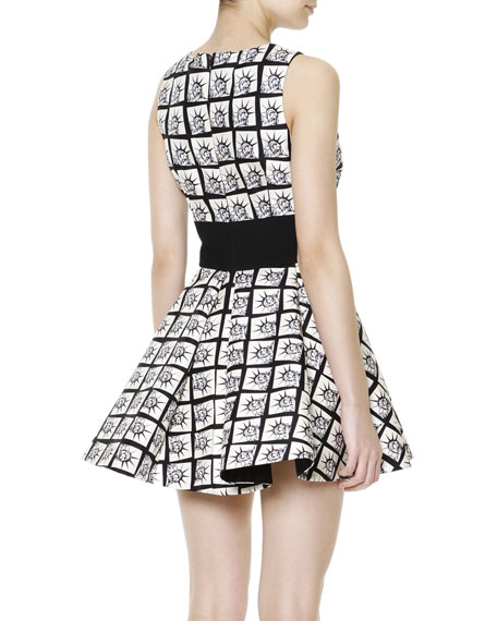 Sleeveless Miss Liberty A-Line Dress