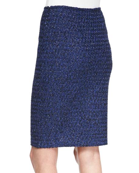 Pencil Skirt, Caviar/Multi