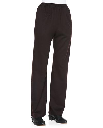 eskandar Cashmere Trousers, Port