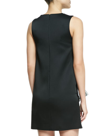 Sleeveless Double-Square Layer Dress