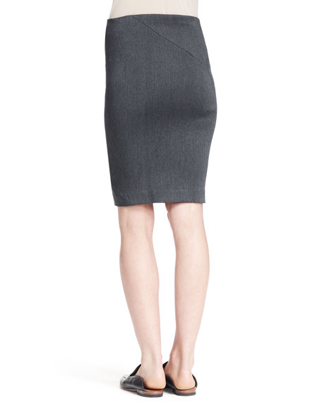 Basio Stretch Pencil Skirt