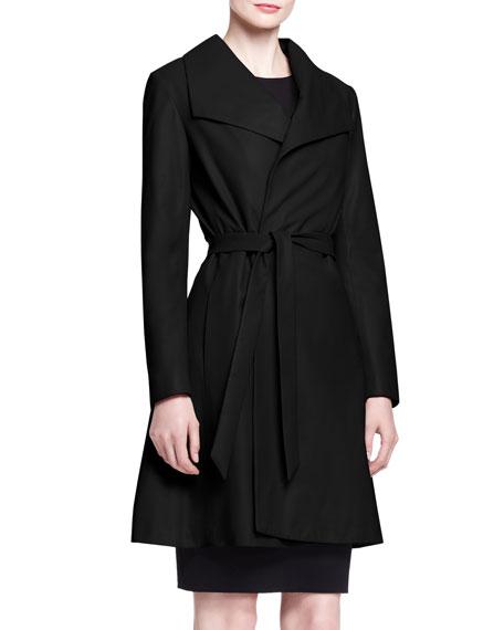 Wallin Lightweight Leather Coat