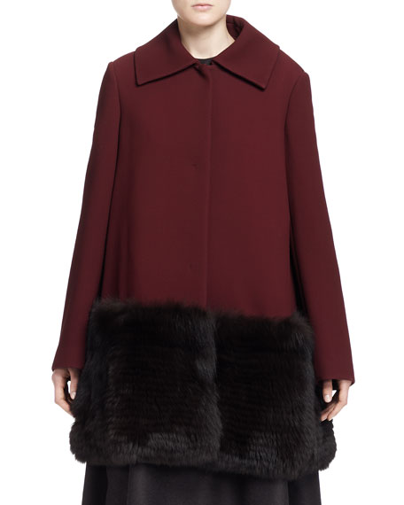 Hastin Fur-Bottom Jacket