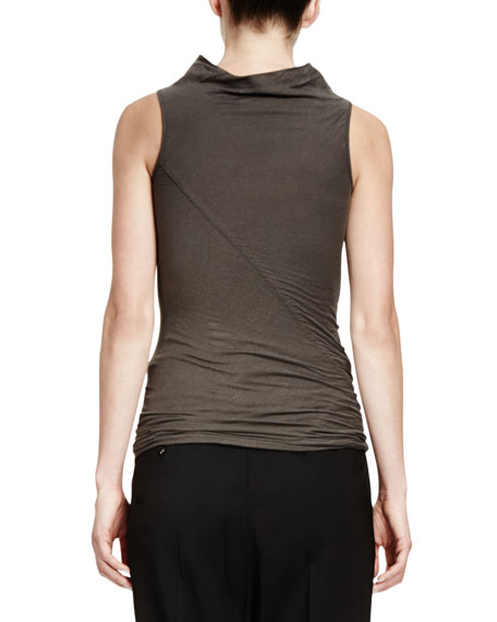 Slub Jersey Sleeveless T-Shirt