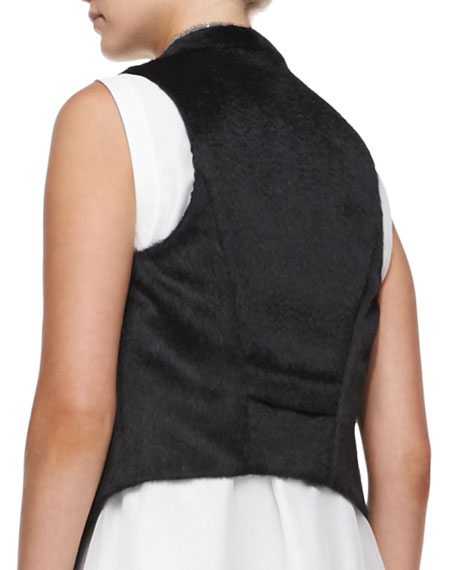 Monili-Trim Alpaca/Wool Vest