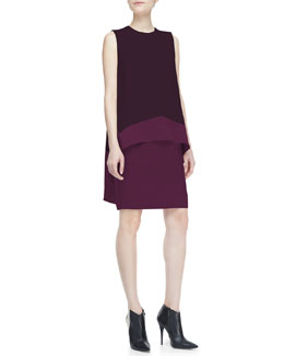 Narciso Rodriguez Sleeveless Popover Top Dress