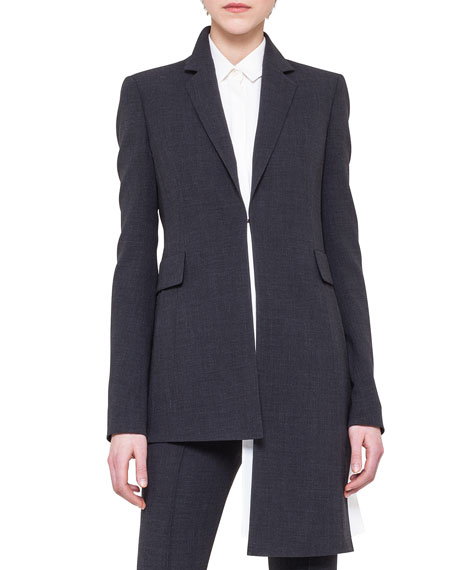 Asymmetric Extended-Hem Jacket