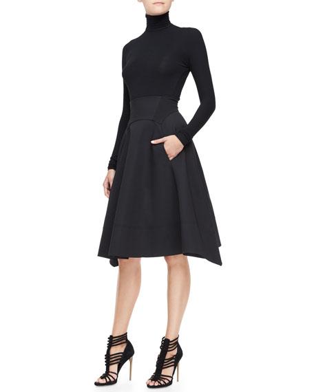 Full-Skirt with Nylon Hem