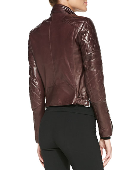 Circuit Leather Biker Jacket