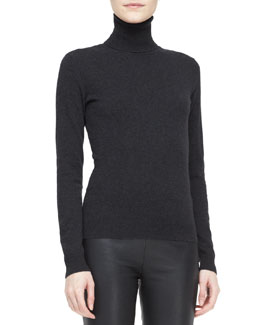 Ralph Lauren Black Label Long-Sleeve Turtleneck Top
