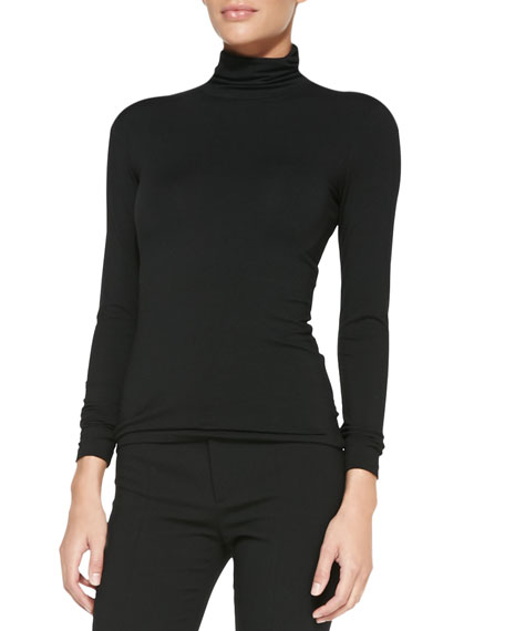 Cailee Long-Sleeve Turtleneck Top