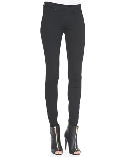 Burberry Brit 4-Way Stretch Travel Jeans, Black