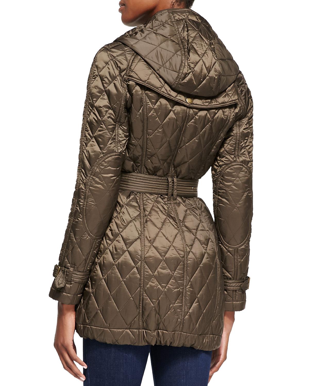 Burberry Brit Finsbridge Long Quilted Coat Neiman Marcus