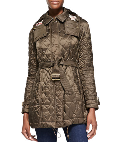 Finsbridge Long Quilted Coat