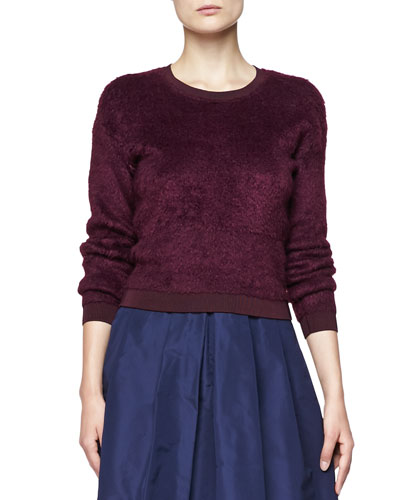 Burberry London Velvet Crewneck Sweater