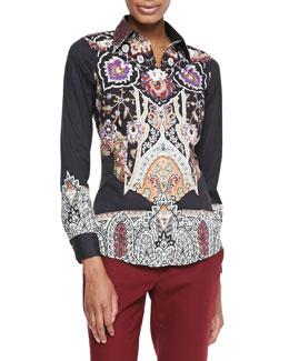 Etro Cotton Long-Sleeve Shirt