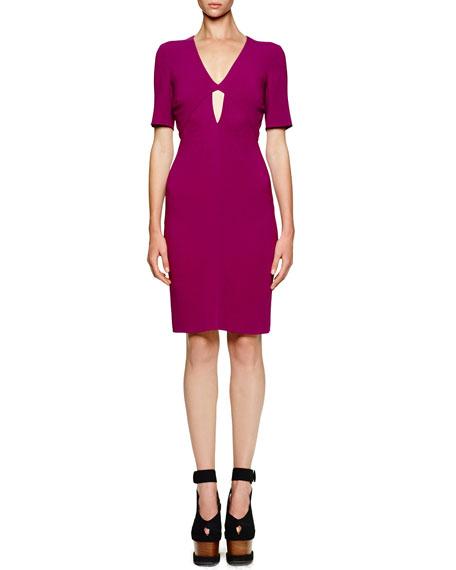 Stella McCartney Open-Back Cutout-Front Dress