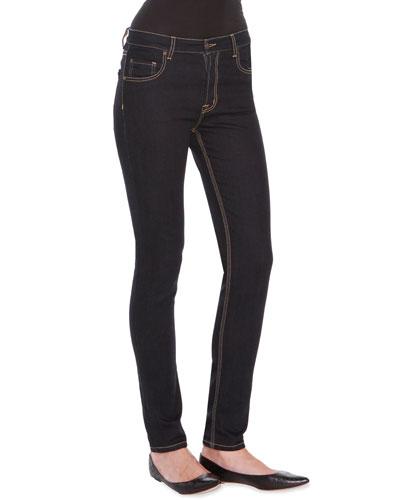 Low Rise Straight-Leg Denim Jeans