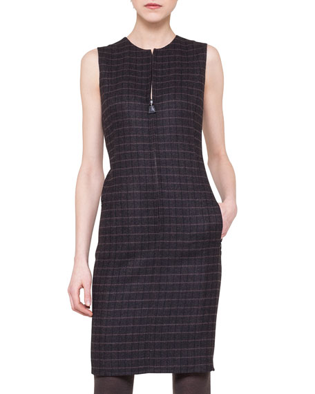 Akris Wool Reversible Dress