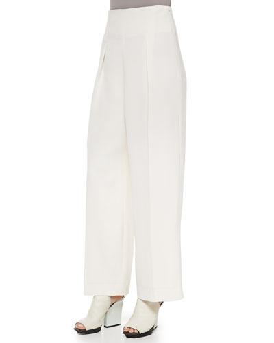 3.1 Phillip Lim Wide-Leg Trousers, Ivory