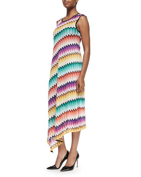Missoni Degrade Zigzag-Knit Maxi Dress