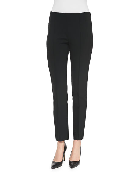 Escada High-Waist Skinny Trousers