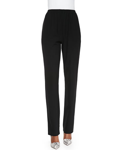 eskandar Mid-Rise Narrow-Leg Trousers