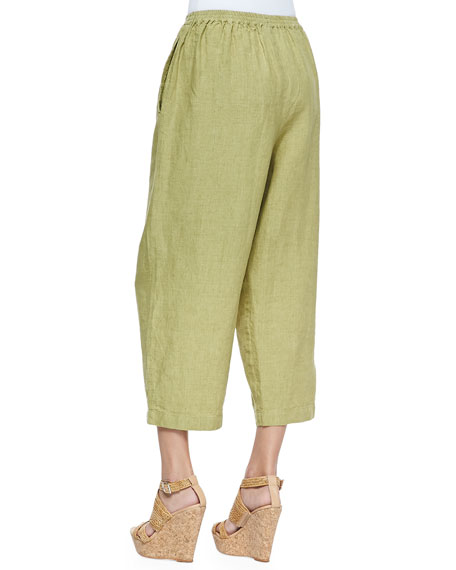 Fine-Knit Japanese Trouser, Chartreuse