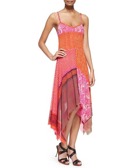 Jean Paul Gaultier Patchwork Handkerchief Slip Dress